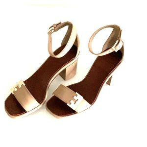 Tory Burch chunky heel shoes